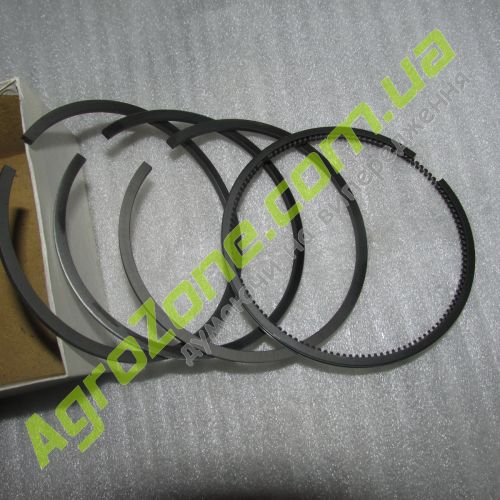 Кільця поршневі 2,5х2,5х2,5х4мм - комплект BY385T, Y385T, YD385T BY485.04001/002/100