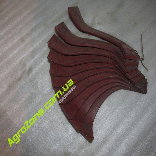Ніж фрези грунтофрези вага 04кг - лiвий, ножы для почвофрезы