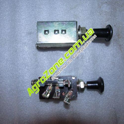 Вмикач фар 2 положення JK10707 з запобіжником