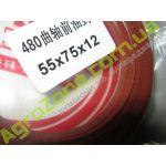 55x75x12R (110504) сальник колінвала