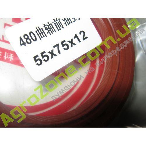 55x75x12R (110504) сальник коленвала