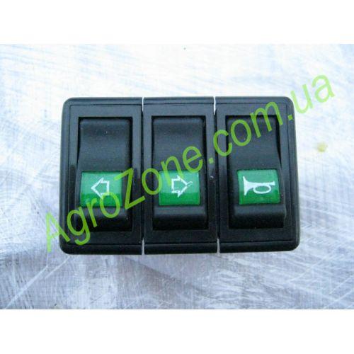 Блок перемикачів (повороти-сигнал) DF240/244
