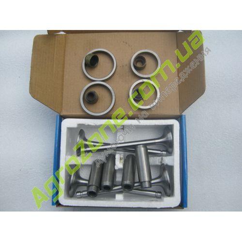 Клапан и седло (впуск + выпуск) направляющая, ремкомплект ГБЦ TY2100 JD490.1-9 +JD490.1-3 + JD