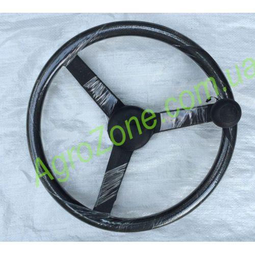 Руль з ручкою (колесо рульове) Xingtai 24B, Shifeng 244,Taishan 24 12.40.012